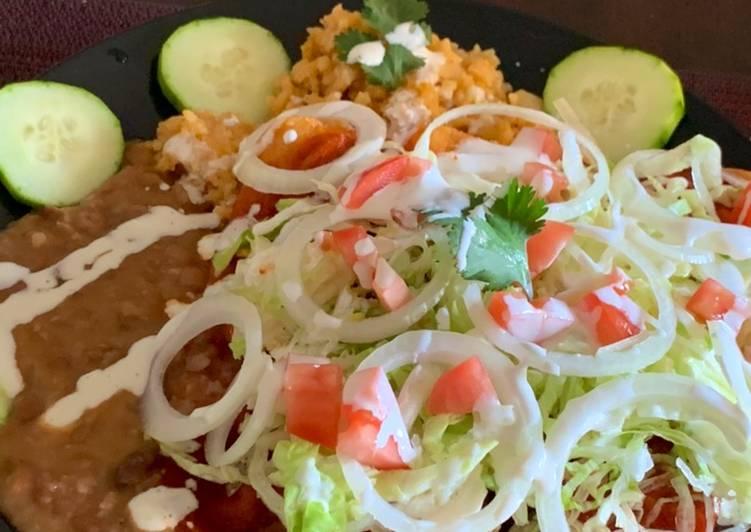 Enchiladas estilo Sinaloa