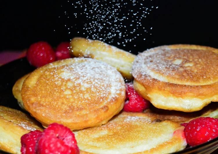 Lemon zest & Cardamom scotch pancakes #charityrecipe