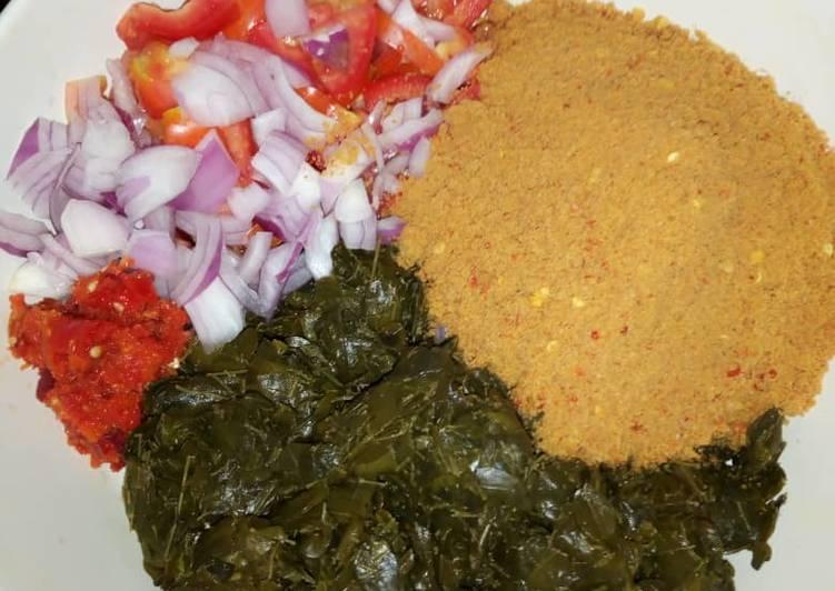 Moringa salad