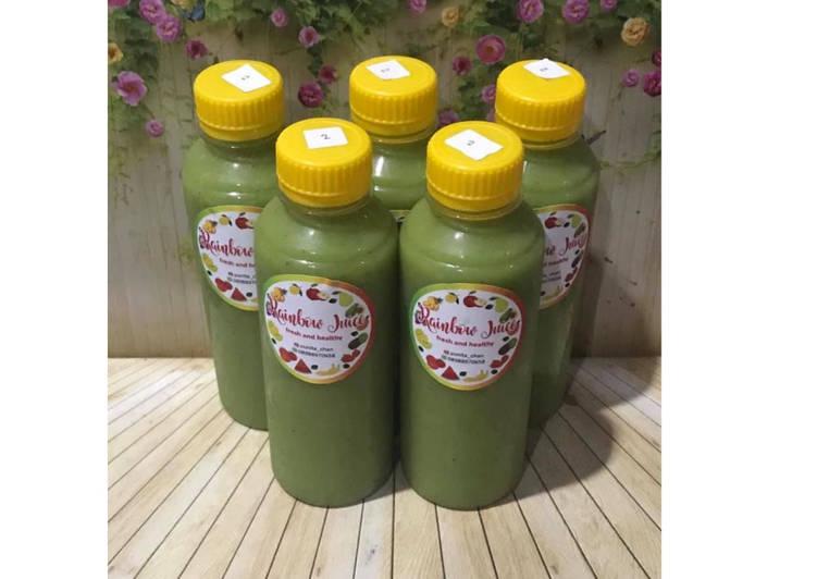 Cara Gampang Membuat Diet Juice Mango Kale Avocado Kiwi, Bisa Manjain Lidah