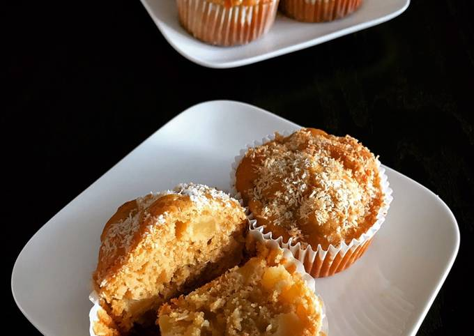 Muffins pomme coco healthy