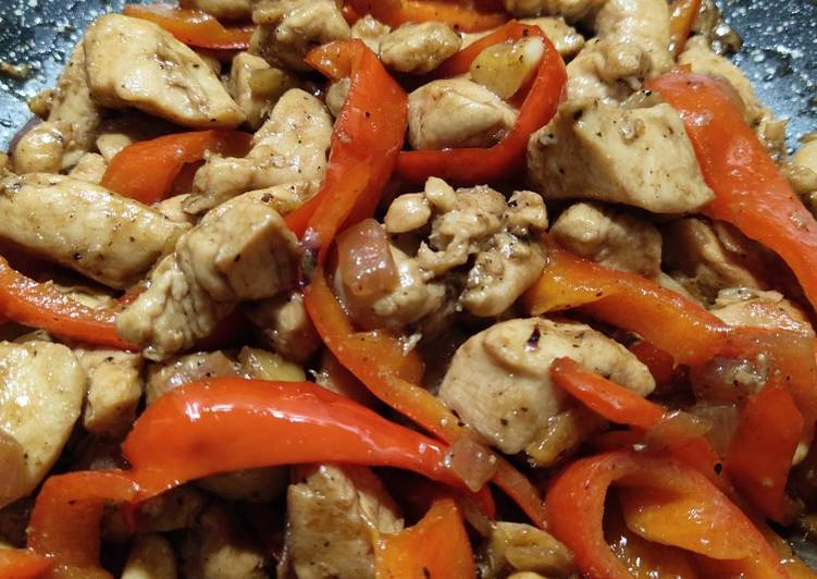 Consume These 14 Superfoods to Go Green for Better Health Chicken and Bell Pepper Saute
