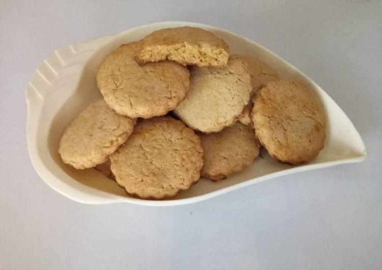 Steps to Prepare Wheat sugar cookies