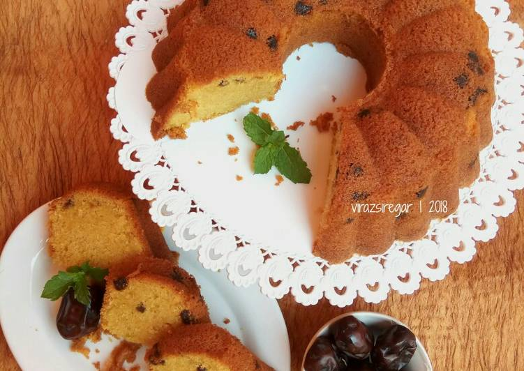 Resep Cake Kurma (Moist and Yummiiiiii )