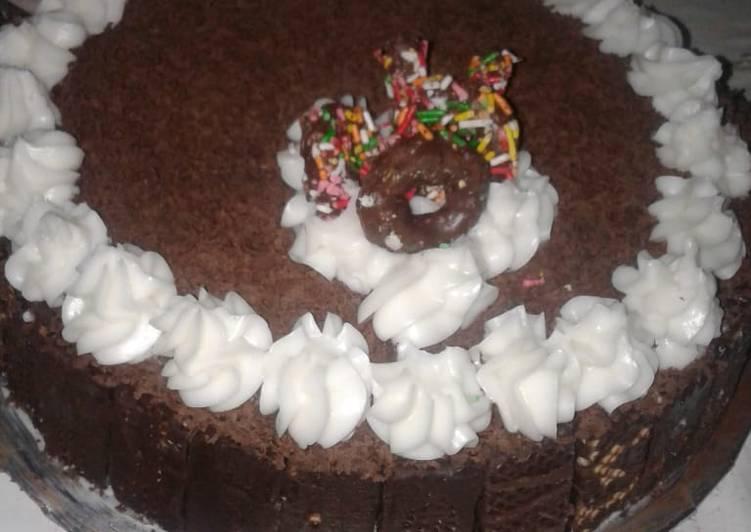 Cake Kukus Dark Choco