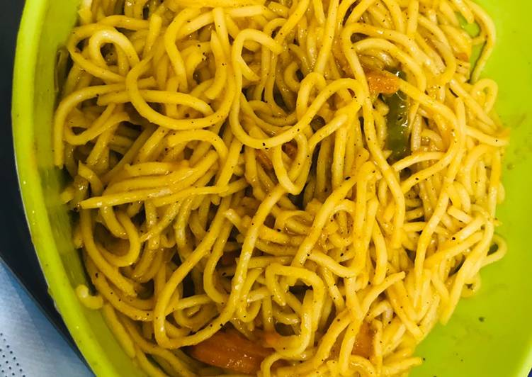 Recipe: Delicious Ching's Hakka noodles