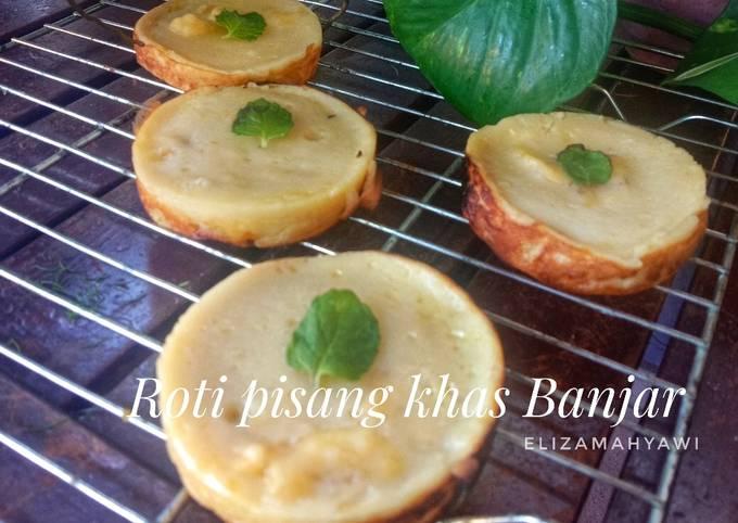 Resep Roti pisang khas Banjar Ala Luvita Hodiono MasterChef Indonesia