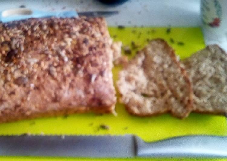 Steps to Prepare Super Quick Homemade Wholemeal seeded bread