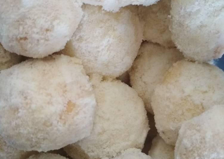 Resep Putri salju keju / cheesy snow ball, Enak
