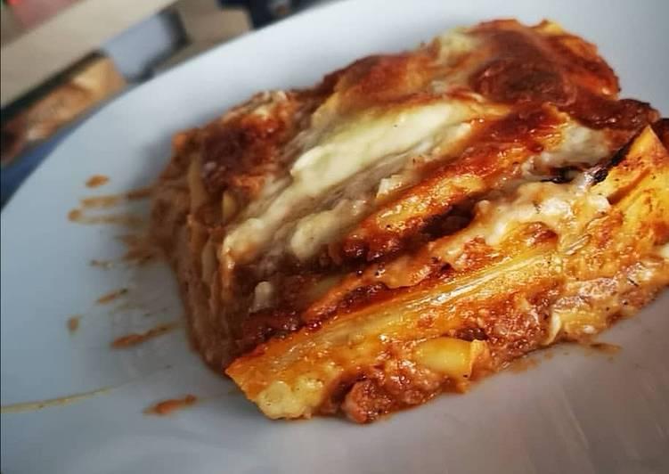 Lasagnes bolognaise maison