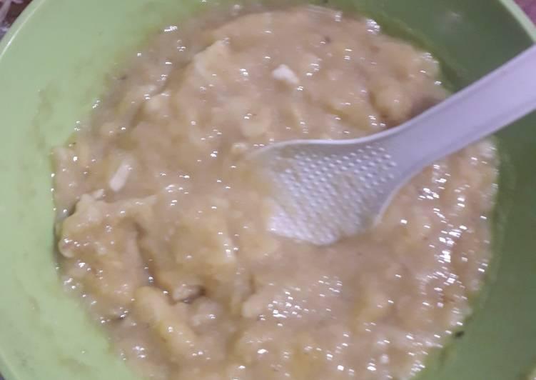 Godok godok pisang khas sumatra