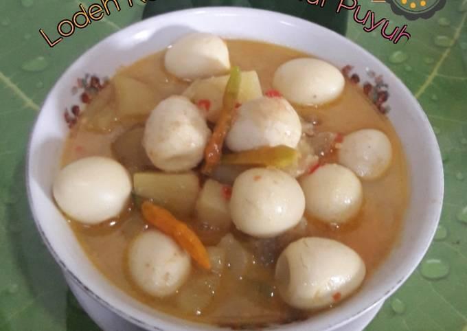 lodeh kentang & telur puyuh - resepenakbgt.com