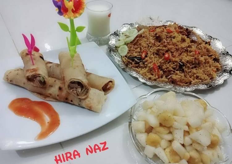 Spicy Beef Biryani KokabAndCookpad, Some Foods That Help Your Heart