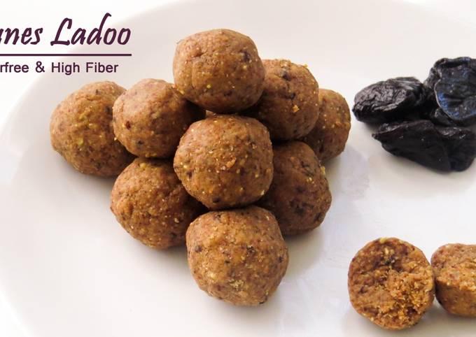 Steps to Prepare Super Quick Homemade Prunes Ladoo (High Fiber No sugar)