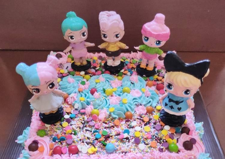 Resep: Lezat LOL Birthday Cake