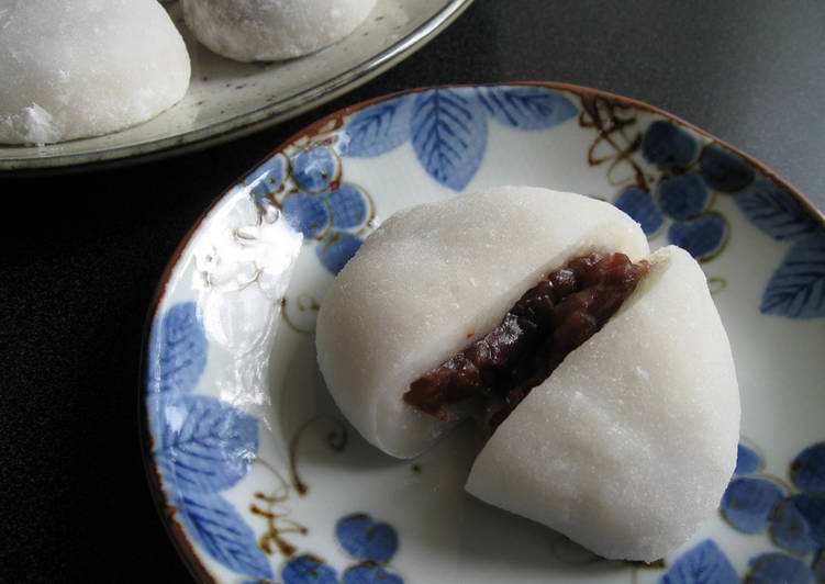 Simple Way to Prepare Ultimate Daifuku Mochi