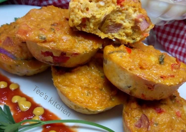 Steps to Prepare Award-winning Moimoi muffin