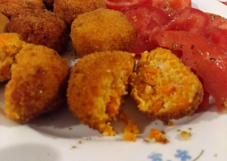 Ricetta Polpette di pollo e carote