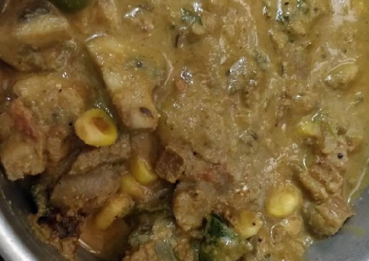 How To Make Your Mushroom capcicum curry