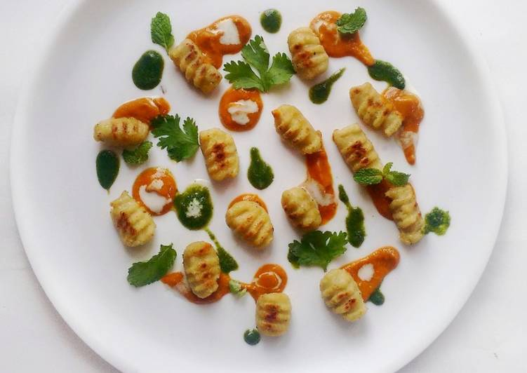 Cauliflower Gnocchi with Creamy Tikka Masala and Mint Chutney:, Foods That Benefit Your Heart