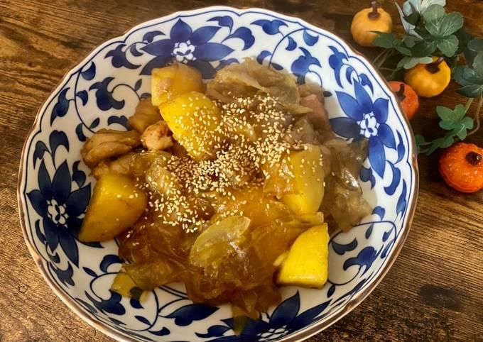 Korean style Chicken and Potato
