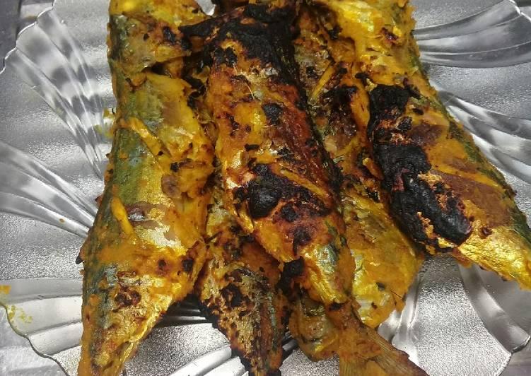 Ikan bakar ala RM.Padang