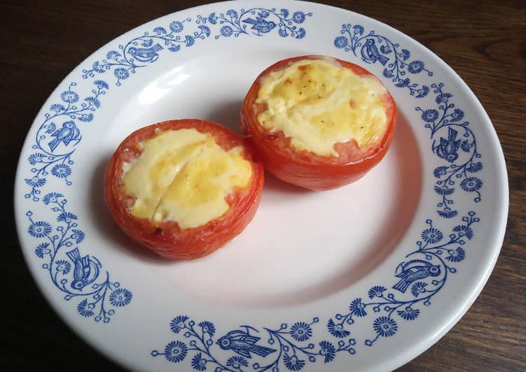 Tomates au flan
