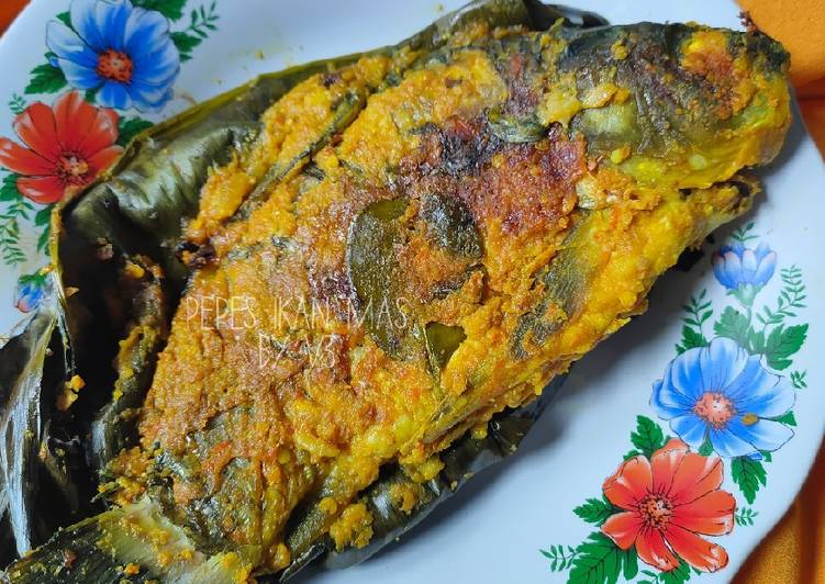 Resep Pepes Ikan Mas Teplon Yang Mudah Bikin Ngiler