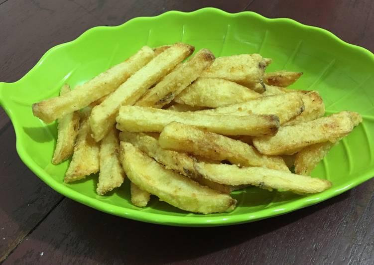 French Fries renyah homade