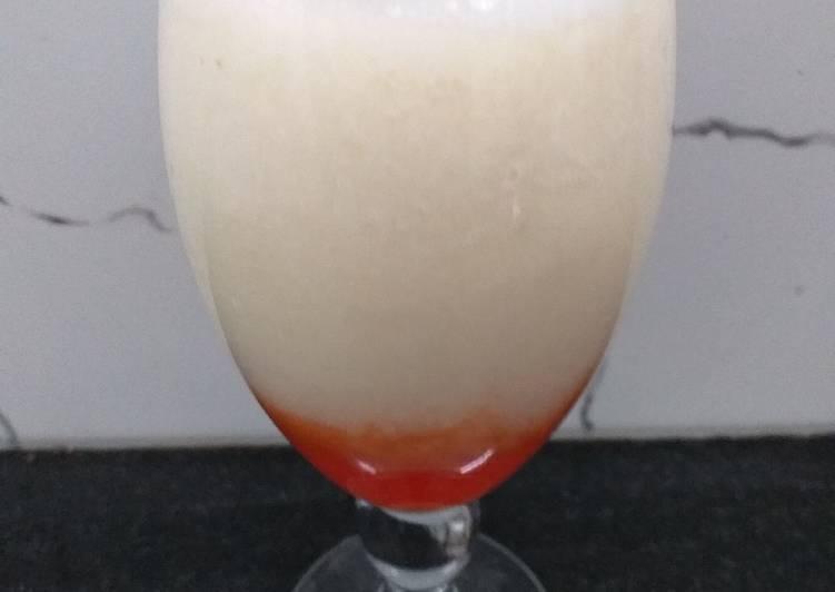 Soursop Apple Cocktail
