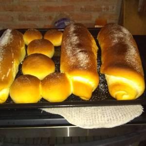 Pan casero dulce (con dulce de membrillo, dulce de batata o chocolate)