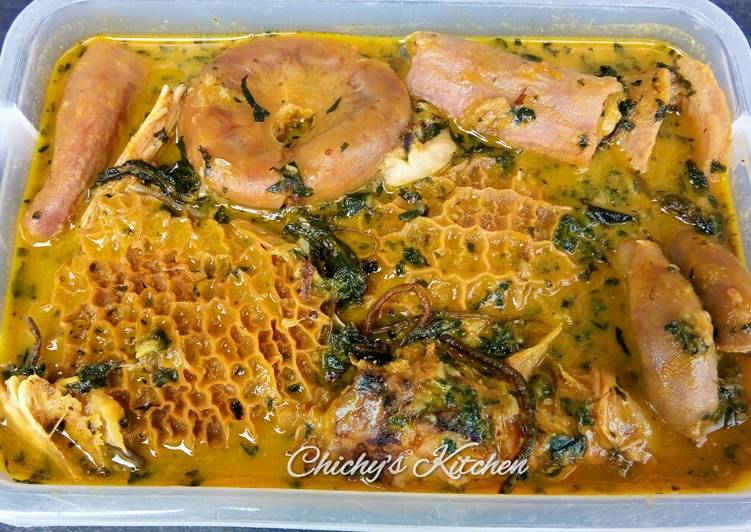 What is Dinner Easy Quick Ofe Onugbu (Bitterleaf soup)