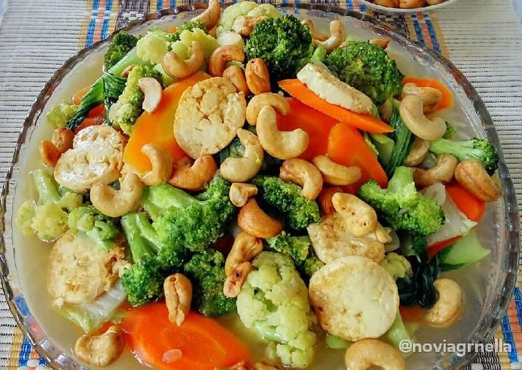 Resep Cah Tofu Sayur Campur Spesial Oleh Nella Cookpad