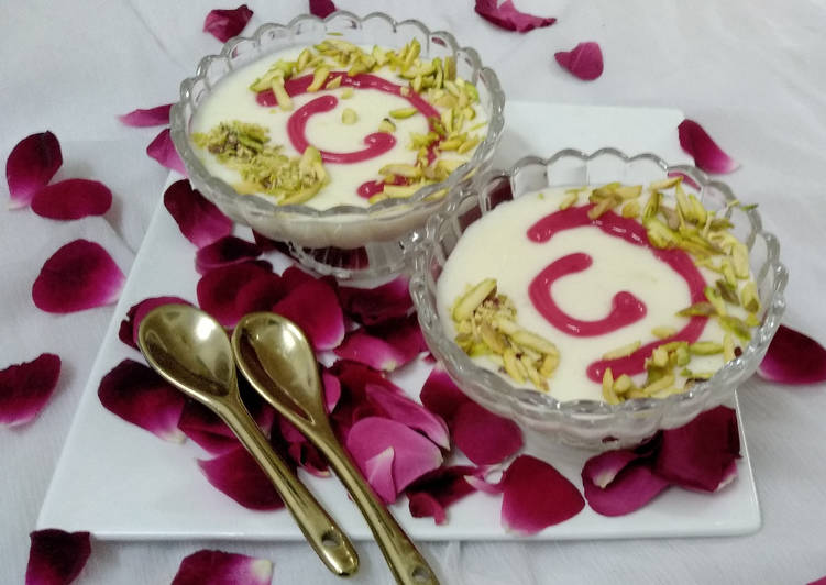 Foods That Make You Happy Muhallebi - An Arabic Dessert