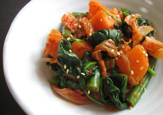 Kimchi & Sweet Potato Salad