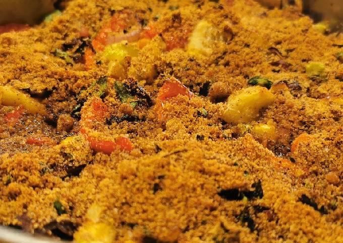 Trionfo di verdure alla siciliana