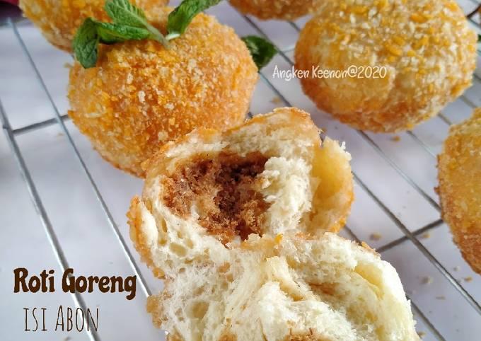 Roti Goreng isi Abon (Tanpa Ulen hasil empuk)