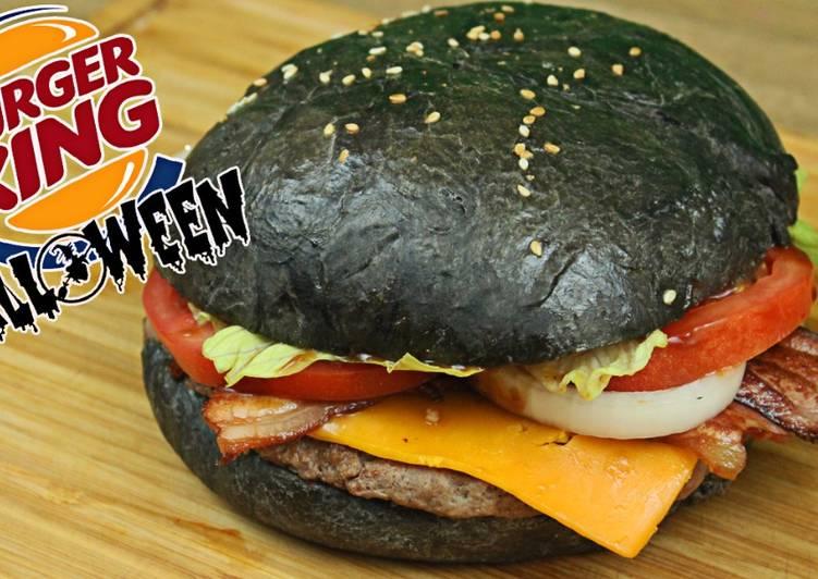 Hamburguesa Negra Burger King Receta Para Halloween Receta