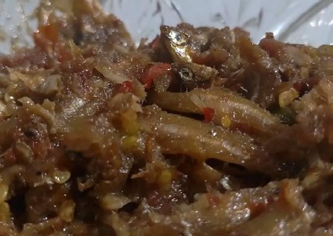 Sambal teri (menu rumahan)