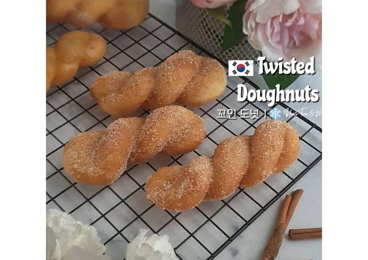 249. Twisted Korean Doughnuts | Donut Kepang | 꼬인 도넛 | 扭曲的甜甜圈
