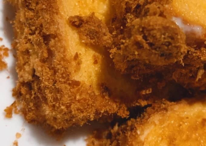 Beef Floss Toast Air Fryer