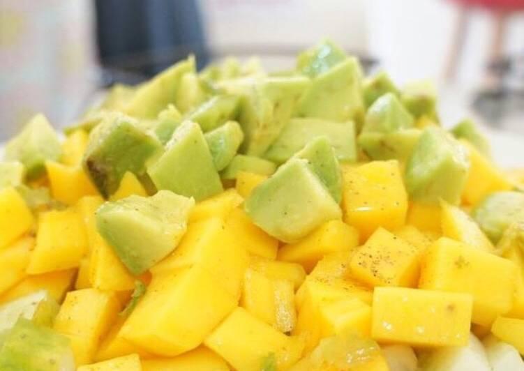Recipe of Quick Tropical salad