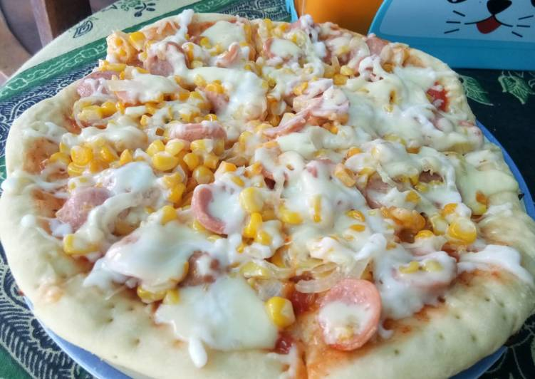Pizza teflon mudah