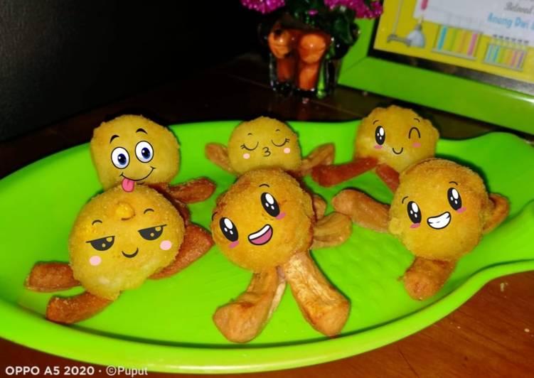 Octopus potatoes 🐙