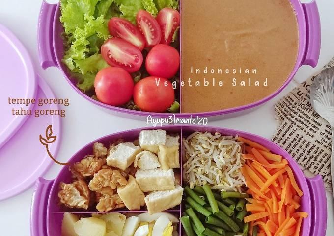 Resep Indonesian Vegetable Salad yang Enak Banget