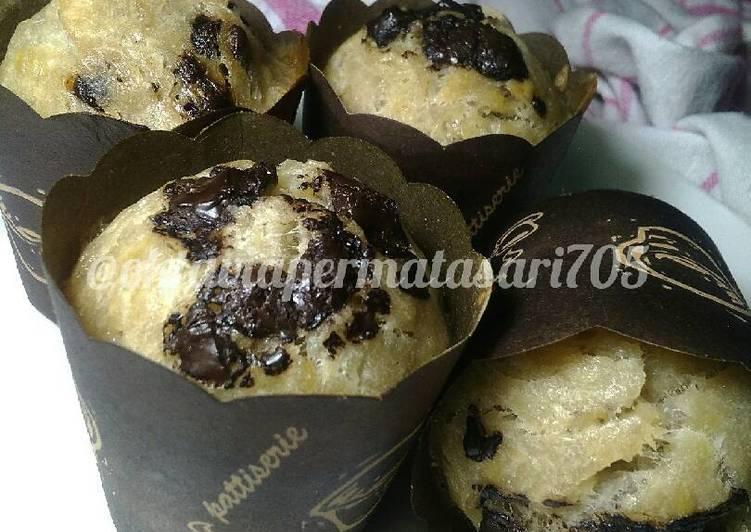 Muffin pisang Gluten free eggles #maree