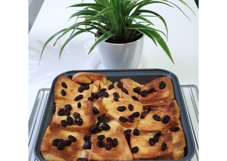 Puding Roti (Bread Pudding)