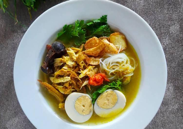 Resep Soto Ayam Kampung/ Soto Ayam Lamongan Yang Simple Enak