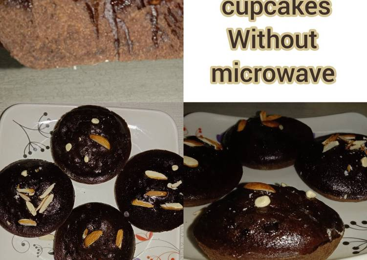 How to Prepare Favorite Chocolate Chip Cupcakes Without Microwave