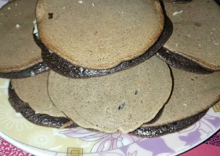 Dorayaki Chocolatos ala Rumahan simpel dan murah